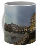Rain Over Prague Coffee Mug