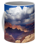 Rain Over The Grand Canyon Coffee Mug
