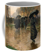 Rain Storm Union Square Coffee Mug by Childe Hassam