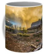 Rainbow At Moulton Barn Coffee Mug