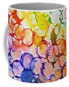 Rainbow Bubbles Coffee Mug