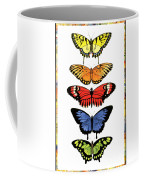 Rainbow Butterflies Coffee Mug