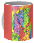 Rainbow Cats 2017 07 01 Coffee Mug