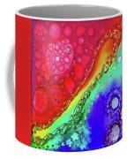 Rainbow Coaster  Coffee Mug