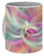 Rainbow Colored Abstract. Concept Divine Virtues Coffee Mug