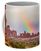 Rainbow Down Coffee Mug
