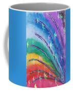 Rainbow Feathers Coffee Mug