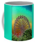 Rainbow Ferris Wheel Coffee Mug