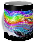 Rainbow Flower Girl Coffee Mug
