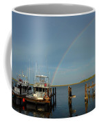 Rainbow In Apalachicola Fl Coffee Mug