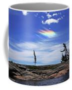 Rainbow In The Clouds Coffee Mug