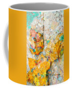 Rainbow Leaves Aqua Coffee Mug