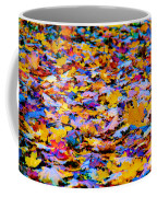 Rainbow Leaves Coffee Mug