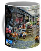 Rainbow Man Courtyart Coffee Mug