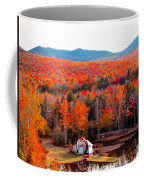 Rainbow Of Autumn Colors Coffee Mug