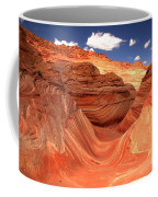 Rainbow Of Colors At The Wave Coffee Mug