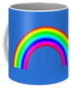 Rainbow On Sky Coffee Mug