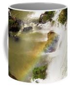 Rainbow On The Falls Coffee Mug