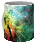Rainbow Orion Nebula Coffee Mug by Jennifer Rondinelli Reilly - Fine Art Photography