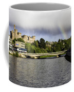 Rainbow Over Inverness Coffee Mug