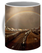 Rainbow Over Moose Jaw Saskatchewan Coffee Mug