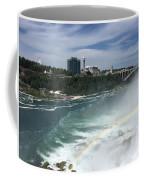 Rainbow Over Niagra Falls Coffee Mug