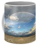 Rainbow Over Ocean Coffee Mug