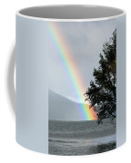 Rainbow Over Odell Coffee Mug