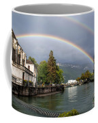 Rainbow Over Thiou River In Annecy Coffee Mug
