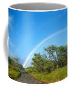 Rainbow Over Treetops Coffee Mug