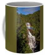 Rainbow Over Whitewater Falls Coffee Mug