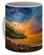 Rainbow Point Coffee Mug