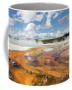 Rainbow Pool In Yellowstone National Park Coffee Mug