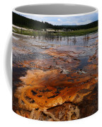 Rainbow Pool - Yellowstone Np Coffee Mug
