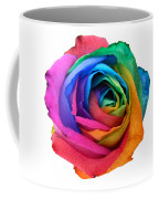 Rainbow Rose 01 Coffee Mug