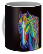 Rainbow Stallion Coffee Mug