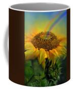 Rainbow Sunflower Coffee Mug