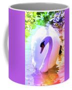Rainbow Swan Coffee Mug