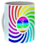 Rainbow Swirl Tree Coffee Mug