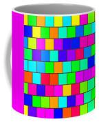 Rainbow Tiles Coffee Mug