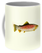 Rainbow Trout Coffee Mug by Michael Vigliotti
