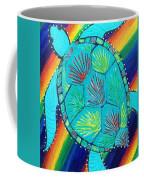 Rainbow Turtle Coffee Mug