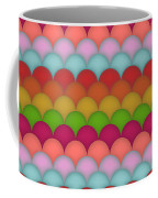 Rainbow Unicorn Scales Coffee Mug