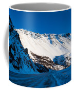 Rainbow Wall In Winter Coffee Mug