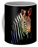 Rainbow Zebra Coffee Mug