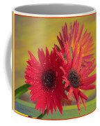 Raindrops On Gerbera Coffee Mug