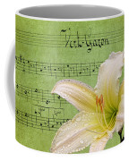 Raindrops On Lily Coffee Mug