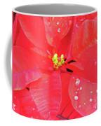 Raindrops On Red Coffee Mug