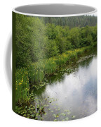Raindrops On The Little Spokane Coffee Mug