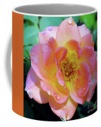 Raindrops On The Pink Rose Coffee Mug